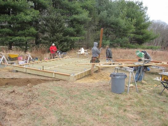 Building the platform or all hands on deck
