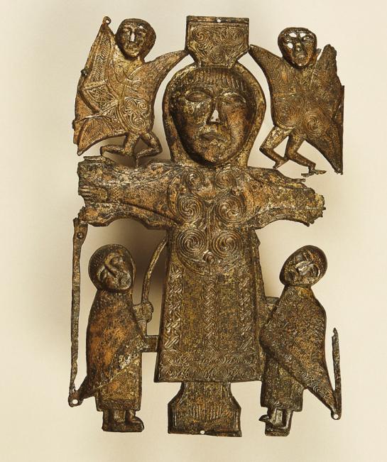 Crucifixion, Dublin, National Museum, 8th century AD, bronze