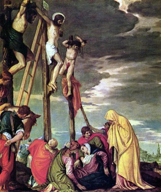Calvary, Paolo Veronese, Louvre, 1580-88